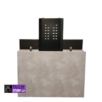 Tv Kast Bed.Tv Lift Kast Betonlook Met Tv Lift 820 Tv Lift Store